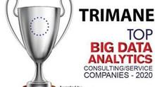 TRIMANE classé dans le top 10 BigData Analytics company
