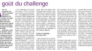 Interview dans le Figaro Etudiant