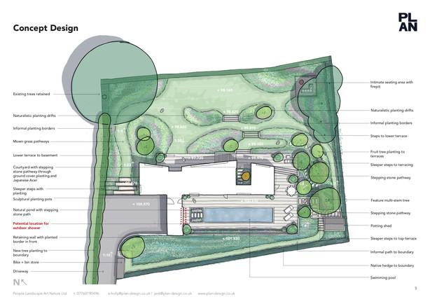 Surrey Garden Design