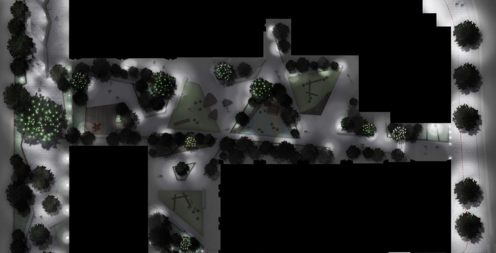 Portal West Lighting Plan