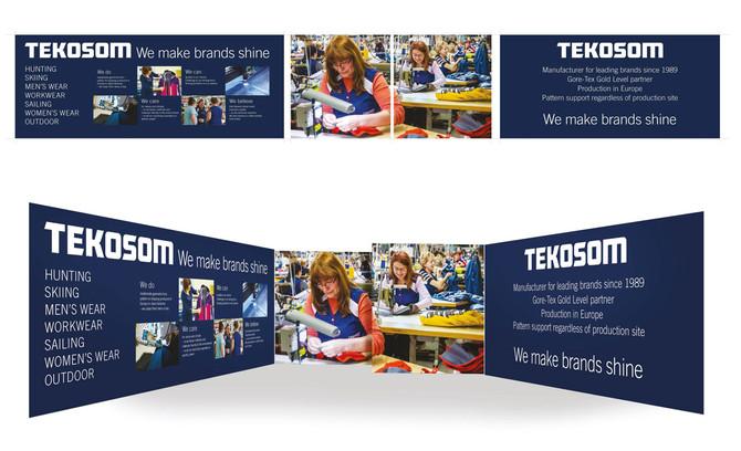 Monter och broschyr för Tekosöm