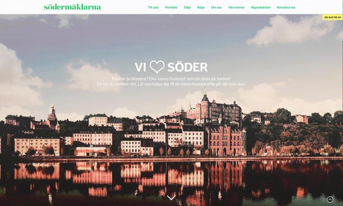 Ny hemsida för Södermäklarna
