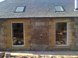 Installation of new full length windows and surround