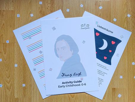 Composer Activity Guides: Franz Liszt (ages 0-6)