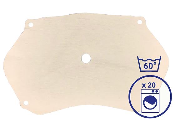 Pack de 5 filtres PHM® lavables CAT1 (100 utilisations)