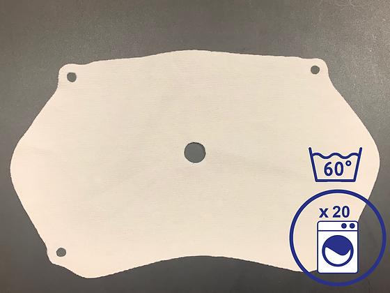Pack de 5 filtres PHM lavables CAT1 (100 utilisations)