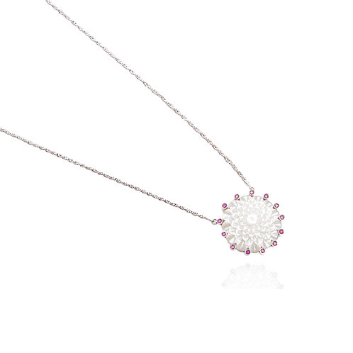 Fluer de Lotus Mandala Necklace