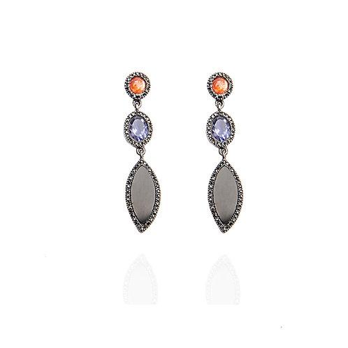Sunstone earrings - Unique piece