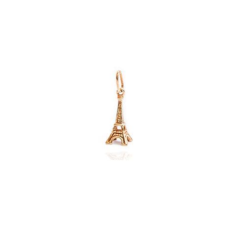 Pendentif Tour Eiffel - Or