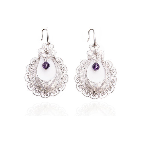 Italian Lace Earrings - Chandelier