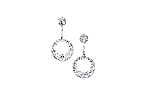 Circle of Drops Earrings