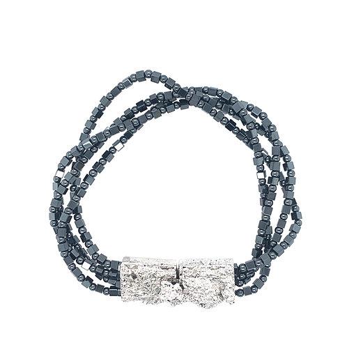"Bracelet ""Natureza Concreta"" Marcassite"