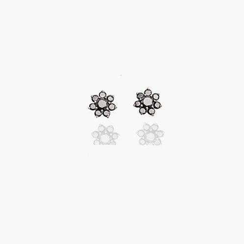 Boucles Fleur D'Onyx