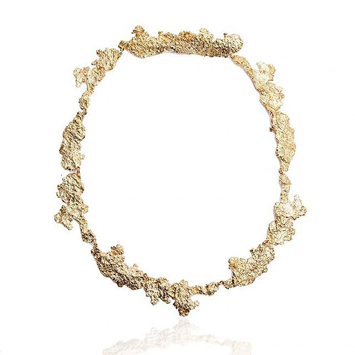 "Collier ""Concrete Nature"" Or"