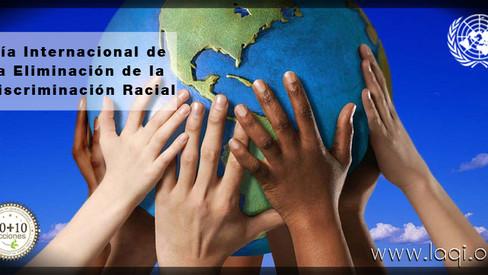 Dia de Internacional de la Eliminación Racial