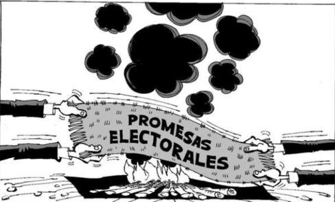 """¿Debería regularse un derecho político para exigir el cumplimiento de las""""promesas electorales""""?"""