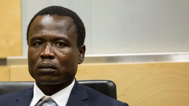 Dominic Ongwen durante los procedimientos en la Corte Penal Internacional (Foto: CPI)