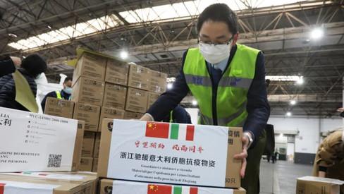 """China y su """"diplomacia de la mascarilla"""""""