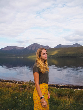 Allison on Isle of Skye