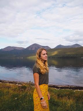 Allison on Isle of Skye