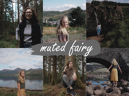 Muted Fairy Lightroom Preset
