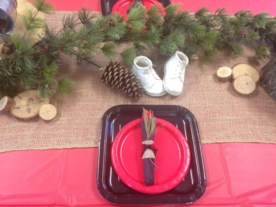 Lumber Jack Theme Baby Shower