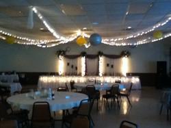 Dance Floor Ceiling Decor