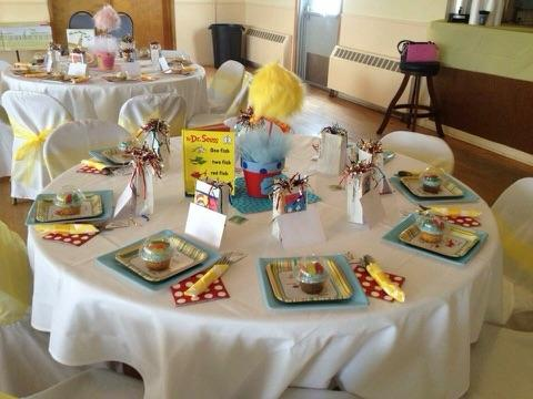 Dr. Seuss Baby Shower