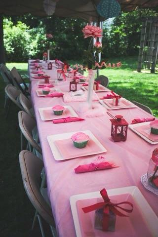 Blue & Pink Birthday Party