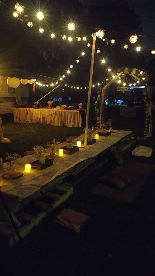 CampsiteBohemian Theme-30th Birthday