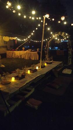 CampsiteBohemian Theme-30th Birthday