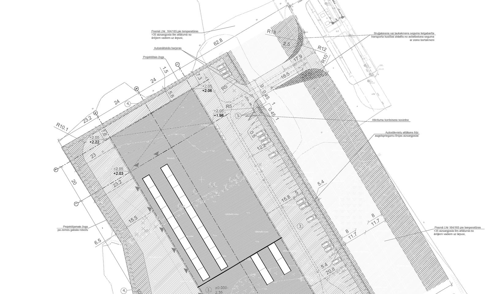 Metāla virsmas apstrādes ražošanas ēka