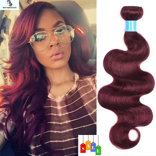 Red Color Body Wave