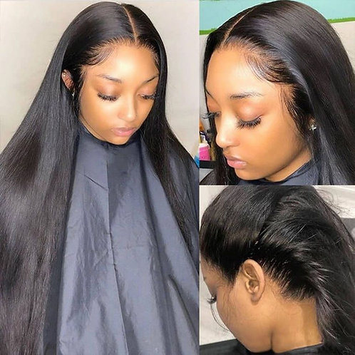 Cheap 360 Lace Wig Straight Human