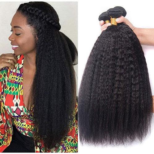 Brazilian Kinky Straight Human hair