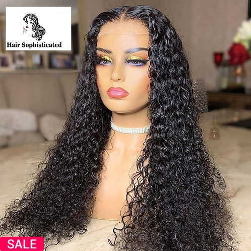 22 Inch Deep Wave Lace Front Wig
