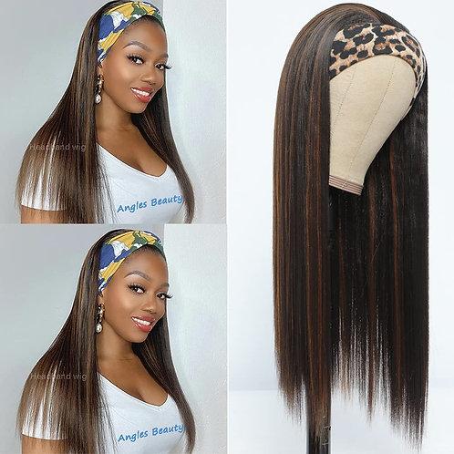 Highlights Headband Wig for Women Black/Brown