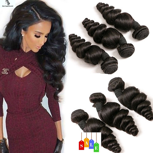 Loose Wave Brazilian Hair Bundles