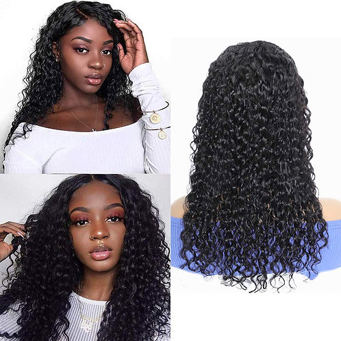 Lace Front Wig, Water Wave Wigs for Black Women