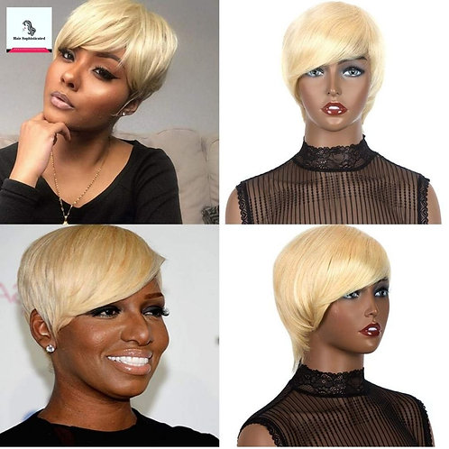 Hair Pixie Wigs for Black Women