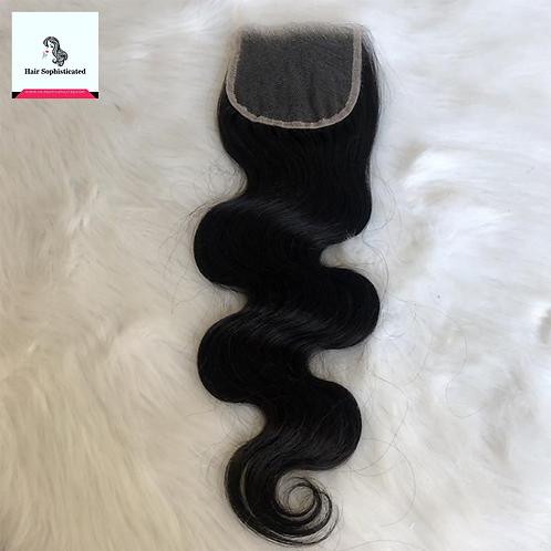 10A 4×4 HD Lace Closure Body Wave Virgin Hair
