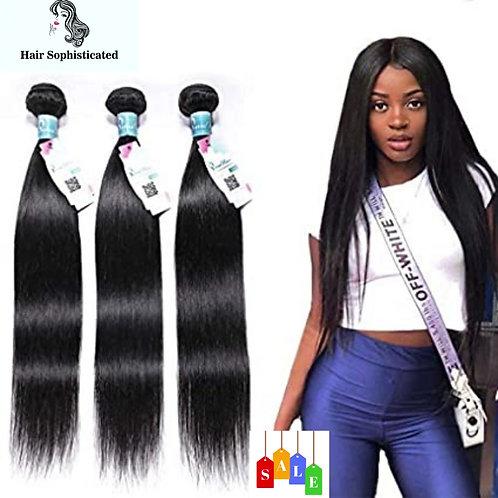 Peruvian Straight Hair 3 Bundles