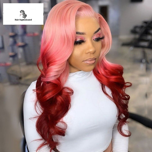 Preplucked Transparent Lace Wigs