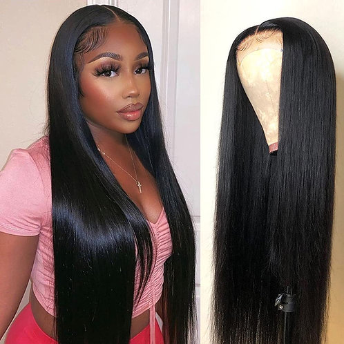 Straight Lace Front Wigs Human Hair for Black Women