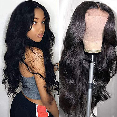 Muokass T-Part Lace Closure Wigs