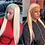Thumbnail: 613 Frontal Wig Brazilian Straight Lace Front