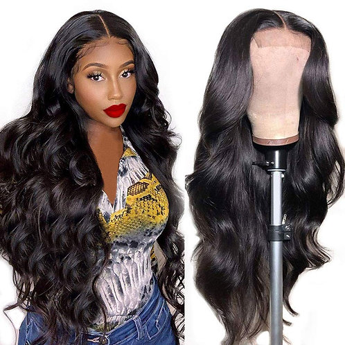 Body Wave Lace Closure Wigs Human Hair
