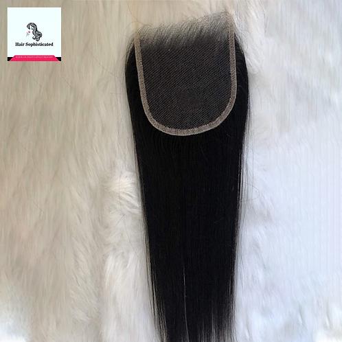 10A 4×4 HD Lace Closure Straight Hair Virgin Hair
