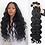 Thumbnail: Body Wave Bundles Human Hair