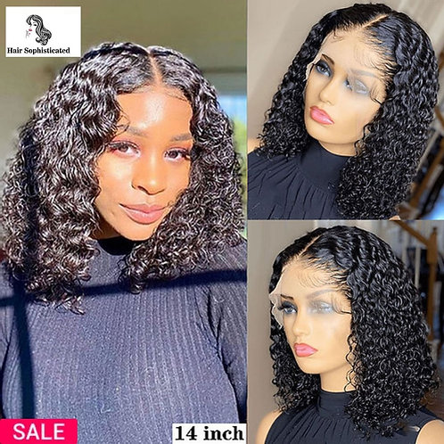 Curly Short Bob Lace Front